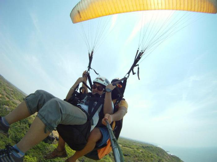 Tandem Paragliding Goa